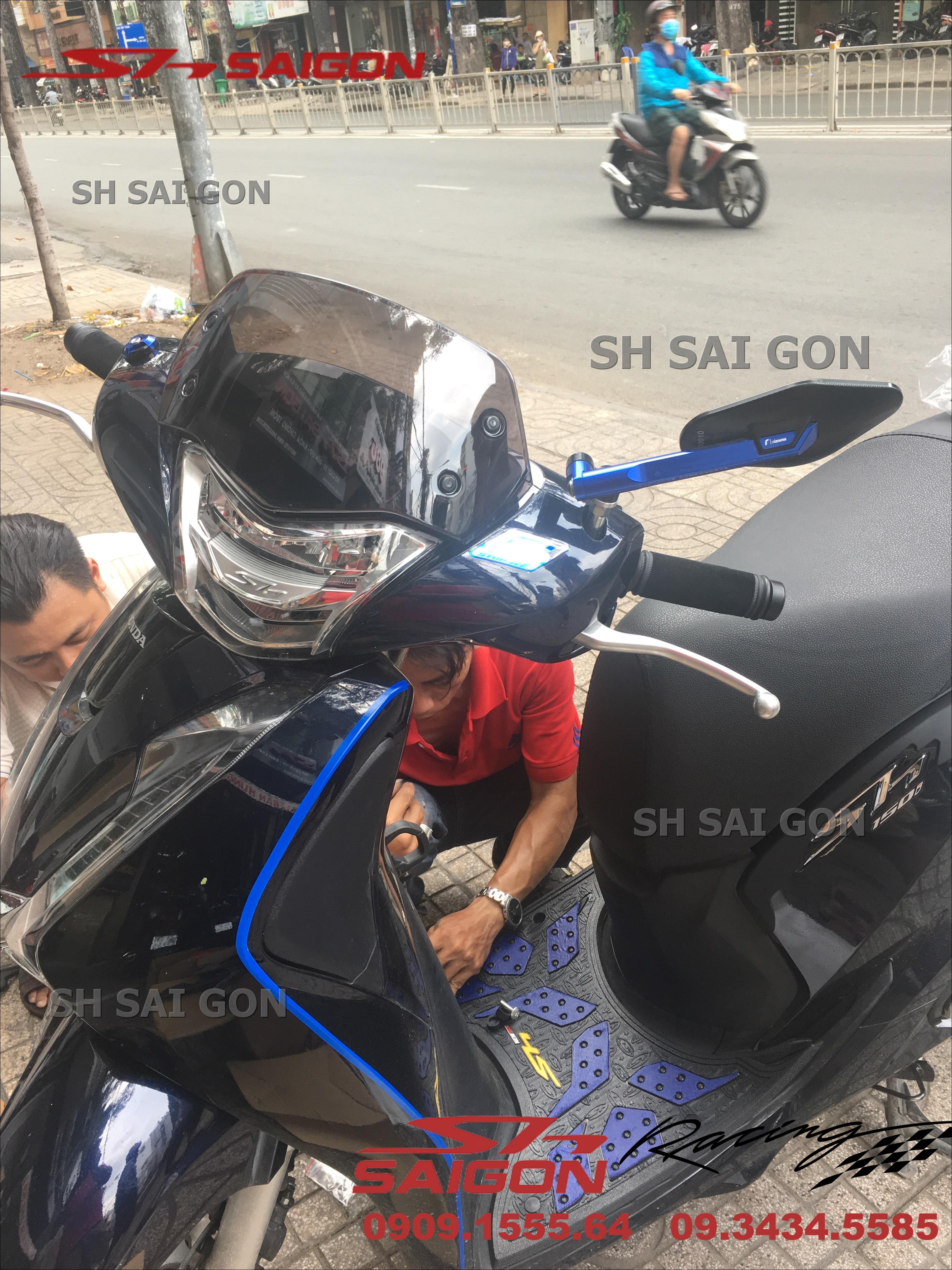 Hình ảnh xe SH Việt Nam 2017 2018 2019 thay kính chắn gió chất lượng giá tốt tại TPHCM