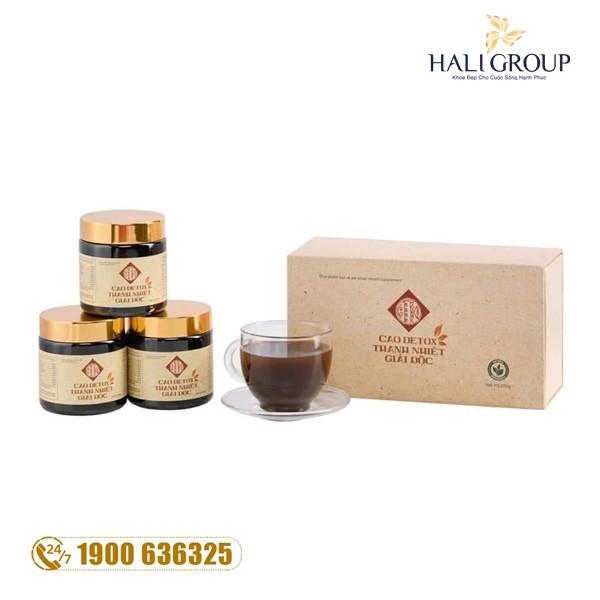 Cao Thanh Nhiệt Hoàng Cung GHB - sản phẩm tuyệt vời thanh lọc và tăng cường sức khỏe